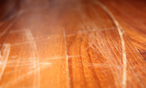 Problem Finish Swirls Or Scratches In Floor Wax The