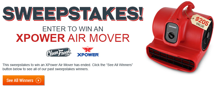 XPOWER sweepstakes