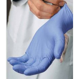 Disposable Rolled Cuff Powder Free Glove