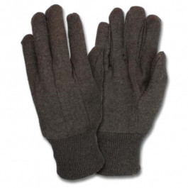Brown Jersey, Clute, Knit Wrist Gloves