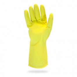 Flock Lined Food Service Latex Gloves