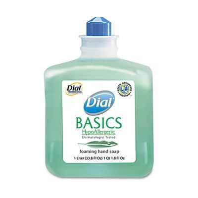 Case of Dial Basics Foaming Hand Soap Refill, 1000mL