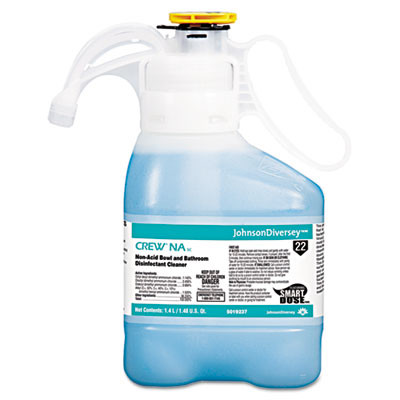 Diversey Crew Non-Acid Bowl & Bathroom Disinfectant Cleaner Case