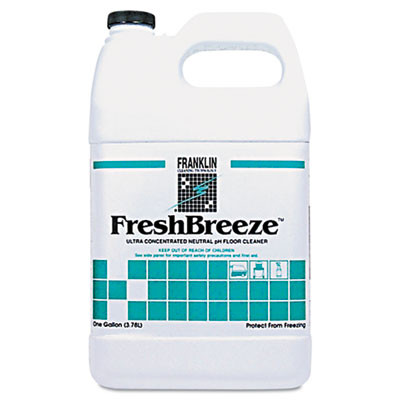 Franklin Freshbreeze™ Ultra Concentrated Neutral PH Cleaner - Case of 4 Gallons
