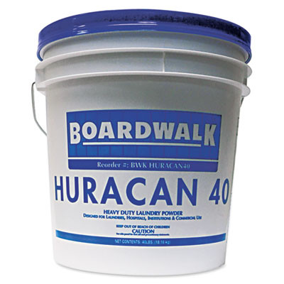 Boardwalk® Huracan 40 Low Suds Laundry Detergent