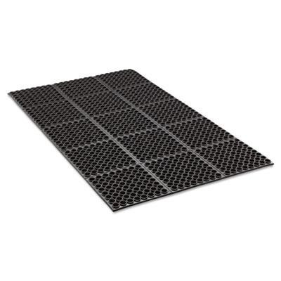 Black 36 x 60 Safewalk Heavy-Duty Anti-Fatigue Drainage Mat