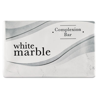 500 Count Basics Bar Soap White Marble Complexion Bar Soap
