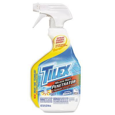 Case of Tilex Mildew Root Penetrator & Remover, 32oz Spray Bottles