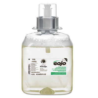 GOJO Fmx Green Seal Foam Handwash Dispenser Refill  Unscented Yellow