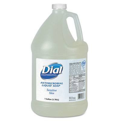 Case of Dial Professional Sensitive Skin Antimicrobial Soap, 1 Gallon Bottles