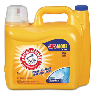 Arm & Hammer Dual He Clean-Burst Liquid Laundry Detergent Case