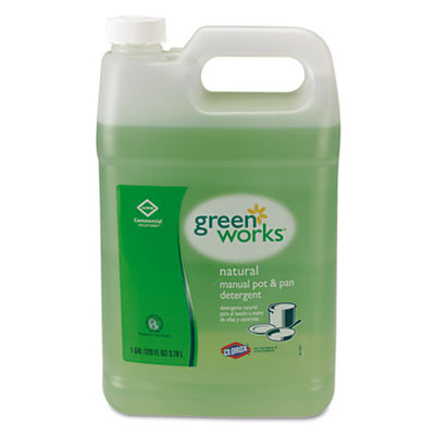Green Works Natural Manual Pot & Pan Detergent (Gallon Jugs)