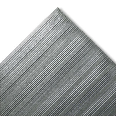 Gray 27 x 36 Ribbed Anti-Fatigue Mat