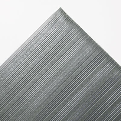 Gray 36 x 60 Ribbed Anti-Fatigue Mat