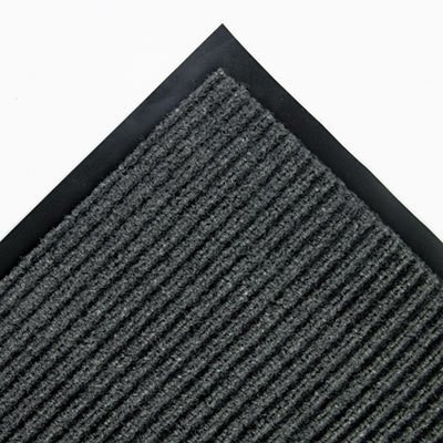 Gray 48 x 72 Needle Rib Wipe & Scrape Mat