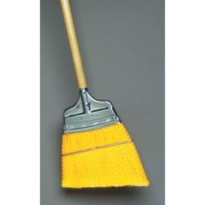 Yellow Corn Broom Angled Trim