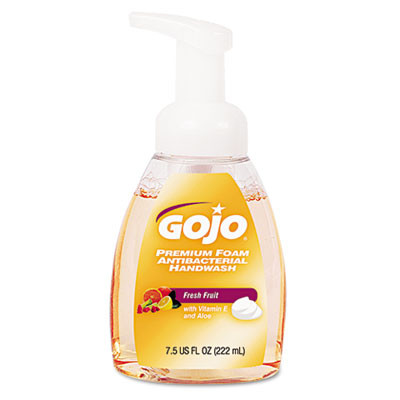 GOJO Premium Foam Antibacterial Hand Wash  Fresh Fruit Gold