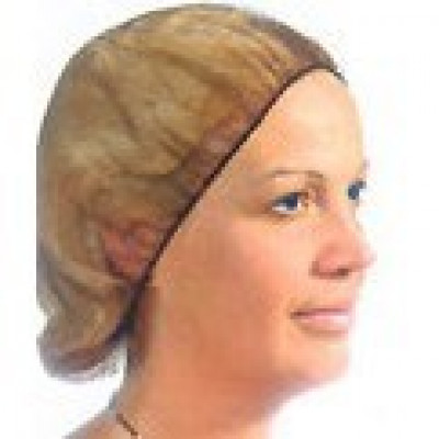 Brown Polyester Hair Nets