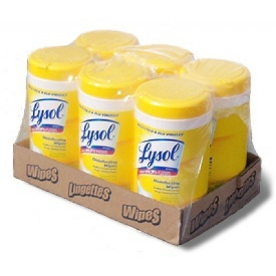 Lysol® Disinfectant Wipes - Lemon Scent