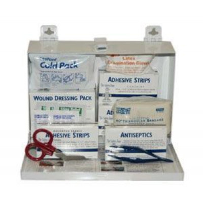 Medium Sized First Aid Kit w/ Metal Case