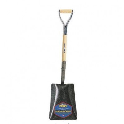 Pony D-grip Smooth-Back Shovel