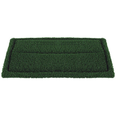 14 x 28 Inch Green Turf Brush Pad
