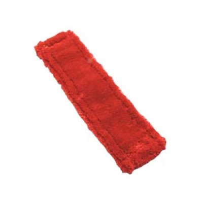 16 inch Red Flat Microfiber Mop