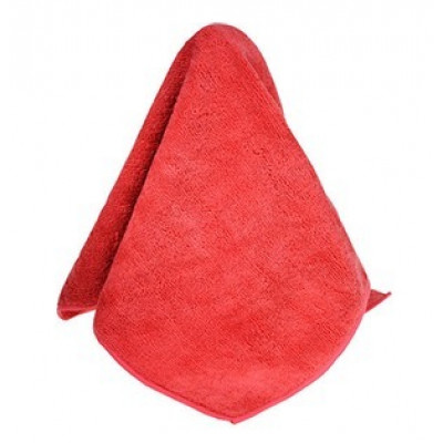 Red Hospital/Bodily Fluid Microfiber Rag