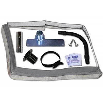 Square Scrub Machine Dust Containment Kit