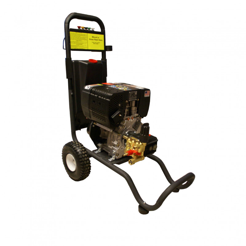 diesel powered concrete power washer