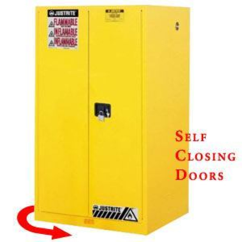 self closing flammable storage cabinet
