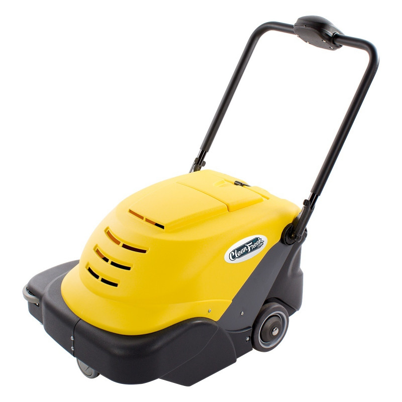 Warehouse concrete floor sweeper like new for Best vacuum for cement floors