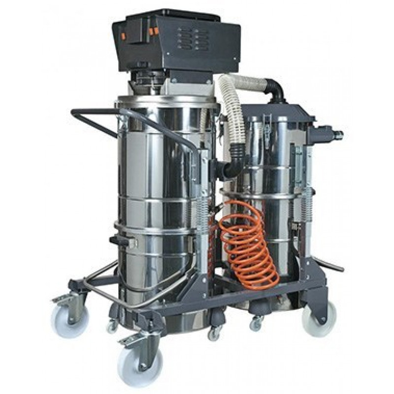 Concrete grinder recovery vacuum for Vacuum cleaner for concrete floors