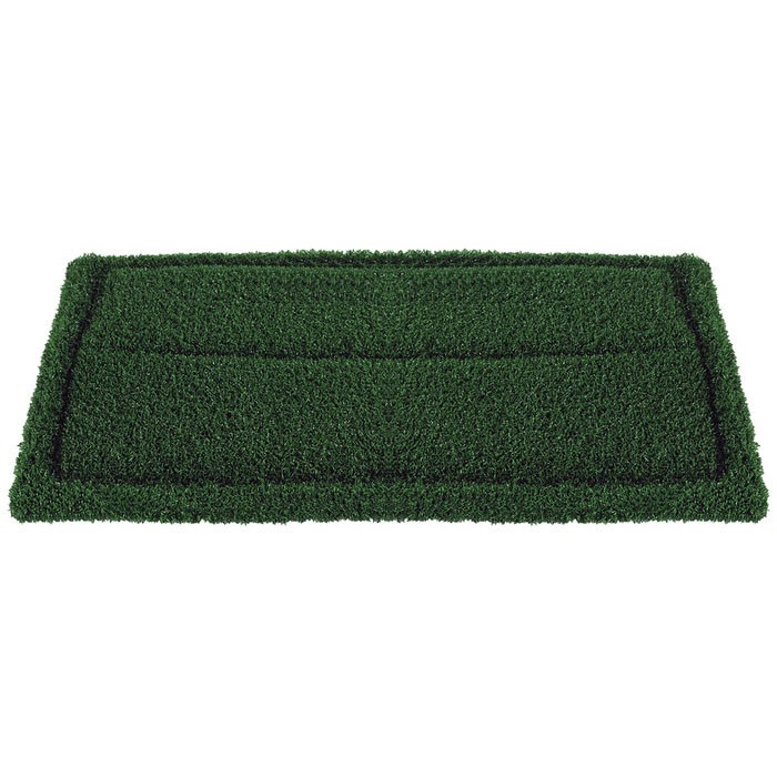 14 X 20 Inch Green Turf Grout Scrubbing Pads Case Of 4