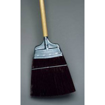 Straight Trim Brown Corn Broom