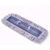 "5""x 18"" Disposable Jean Clean Dust Mop"