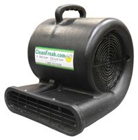 black air mover front view