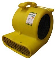 yellow air mover front view