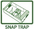 Mouse, rodent, & rat snap traps