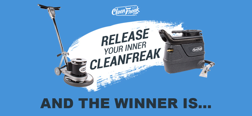 2019 Release Your Inner CleanFreak Winner