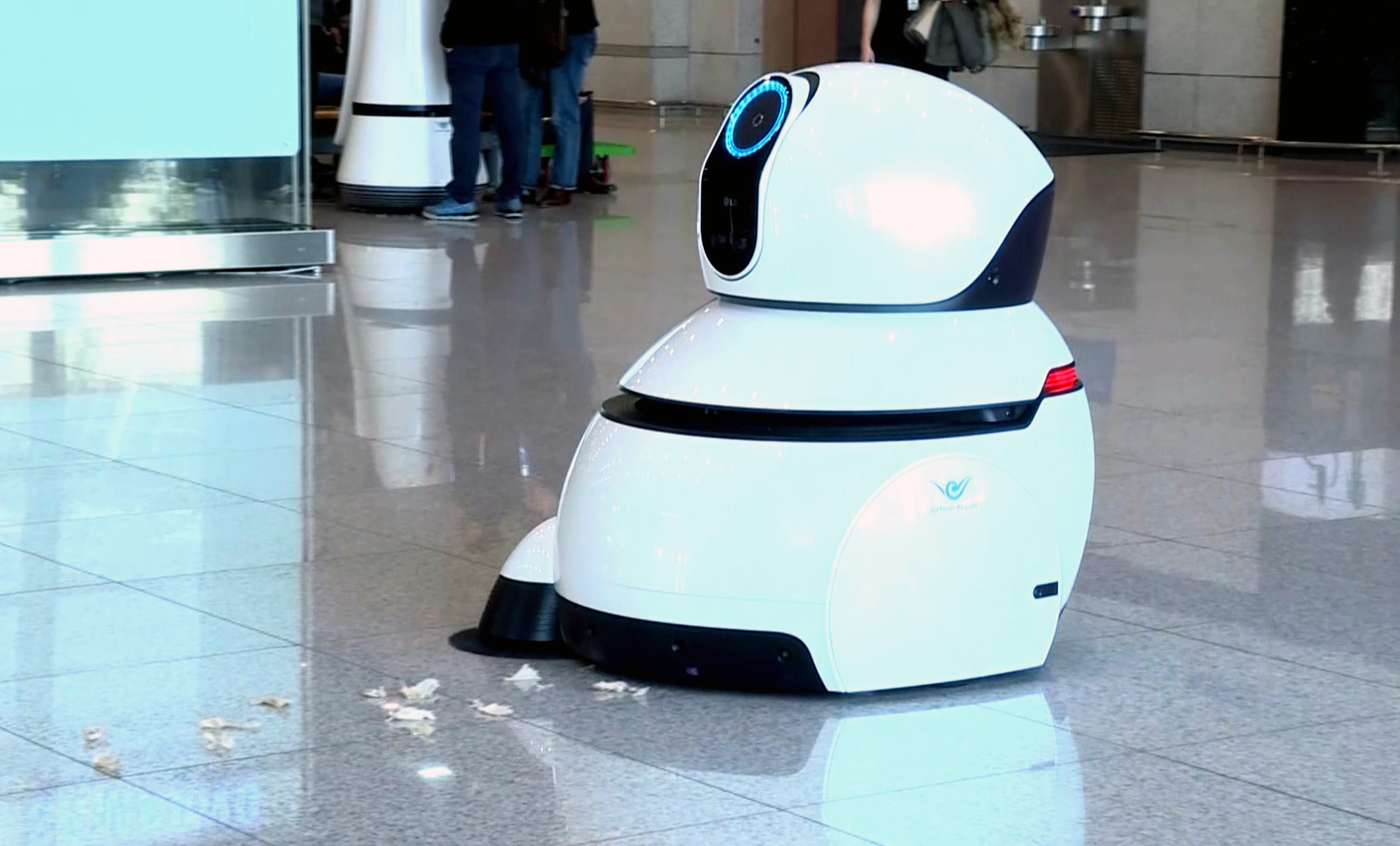LG Cleaning Robot