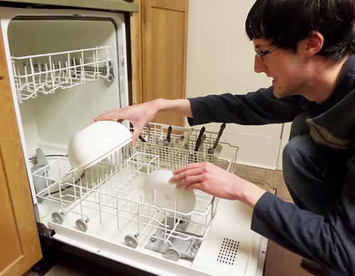 Loading a Dishwasher