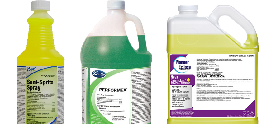 How to Choose the Right Disinfectant