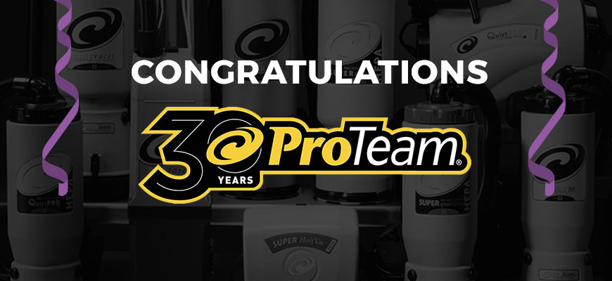 ProTeam Celebrates 30 Years of Innovation