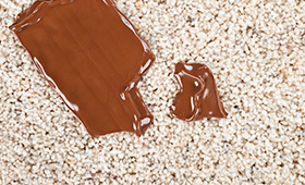 How to clean chocolate out of carpets and upholstery
