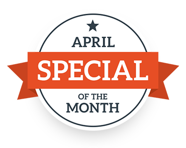 April Special of the Month