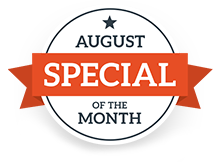 August Special of the Month