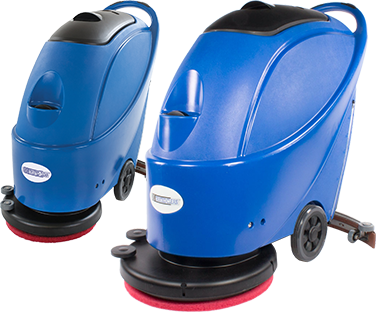 Trusted Clean 'Dura 17' and 'Dura 20' floor scrubber