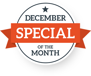 December Special of the Month