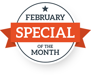 February Special of the Month